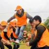 Tổ Chức Team Building Tại Serena Kim Bôi Hòa Bình Resort