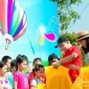 Công ty tổ chức ngày hội gia đình family day tại bãi đá sông Hồng