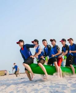 Tổ chức team building chuyên nghiệp & uy tín tại Hạ Long