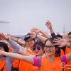 Dịch vụ cho thuê đạo cụ đồ tổ chức team building - Áo lưới màu cam