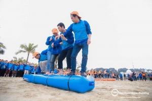 Tổ chức team building kết hợp tiệc liên hoan cuối năm cho công ty, doanh nghiệp